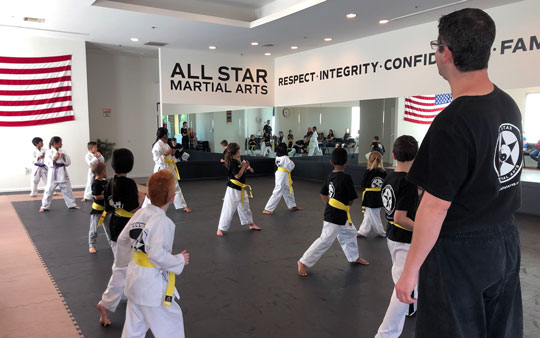 The objectives of All Star Martial Arts is to be able to provide a service to the community to set goals, work hard, and be of the safest and best learning environment that Oak Park and the Conejo Valley has to offer for karate.