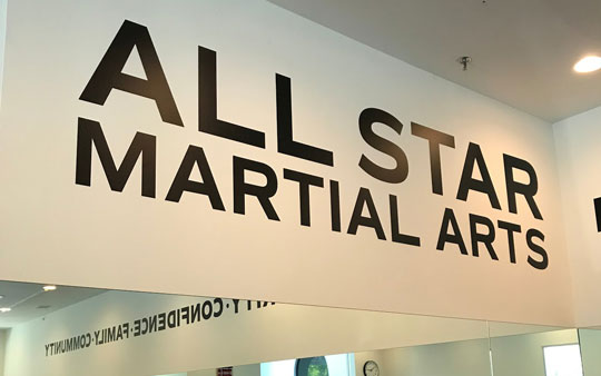 All Star Martial Arts offers a clean safe training environment at a karate studio of ages 3 to adult and for all belt levels and skill sets.